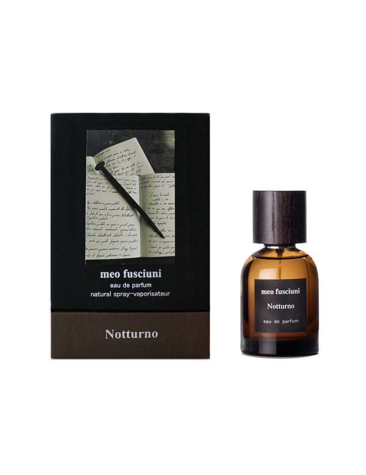 Meo Fusciuni Notturno parfum Notturno is the first fragrance of the Cycle of Poetry. Inspired by Rilke, Holderlin, Celan, Neruda and De la Cruz, five…