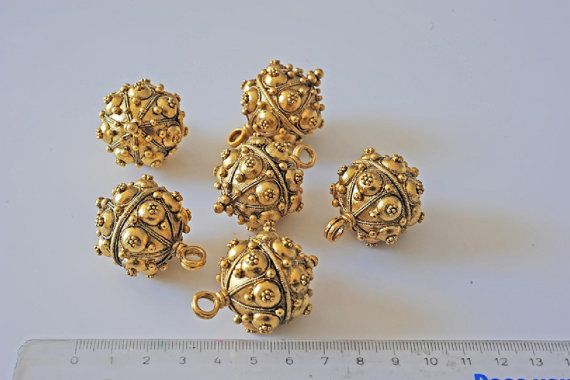 Russian button worn on Czars garments replica by aBeadCarnival, $198.00