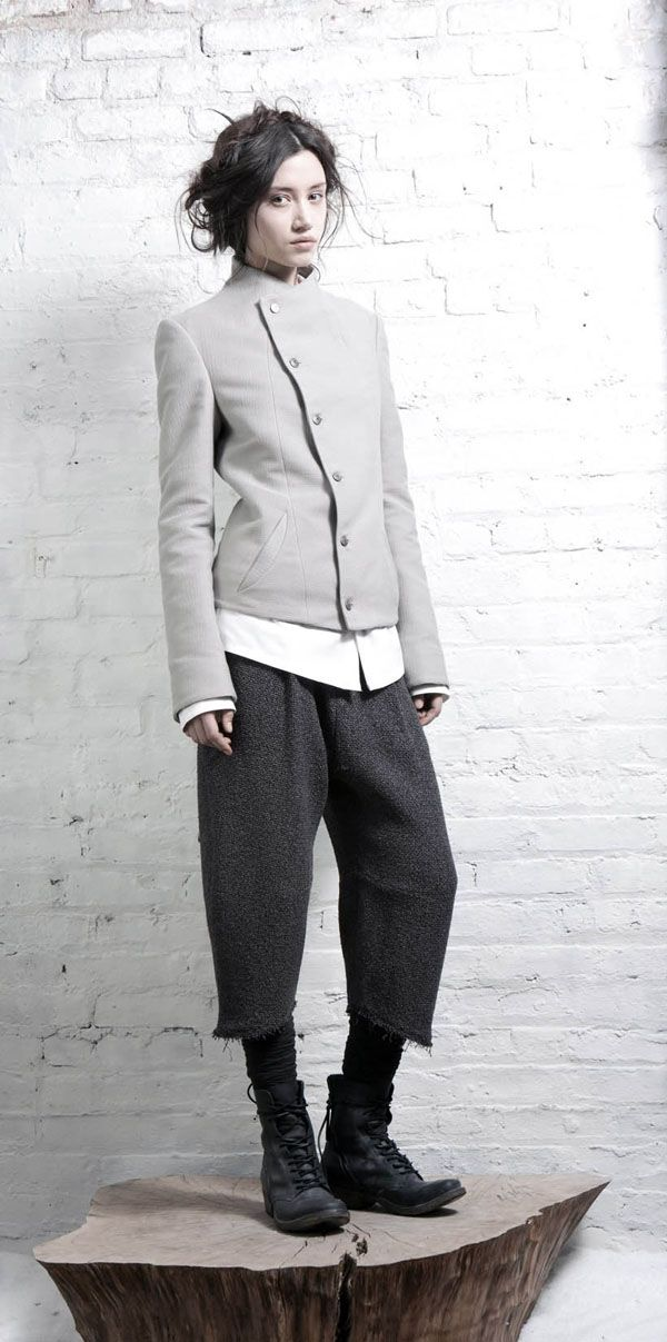 Ashen Tundra, Frozen Roads: InAisce Fall 2011 Collection Lookbook | Foraged Design