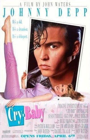 Directed by John Waters.  With Johnny Depp, Ricki Lake, Amy Locane, Susan Tyrrell. In 1950s Baltimore, a bad-boy with a heart of gold wins the love of a good-girl, whose boyfriend sets out for revenge.