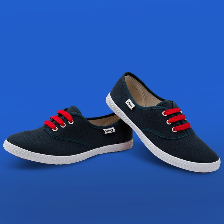 Tomy Original Low Denim (red laces not included)