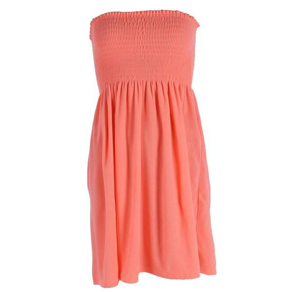 828dda3ddb80f This versatile dress is a great addition to your summer wardrobe. The  strapless design features