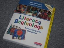 """""""Literacy Beginnings"""" discussion on an end-of-preK checkup (language and literacy teaching): Preschool Language, Teacher Bloggers, Books Kids Literacy, Books Online, Checkup Language, Printable Language, Preschool Abc Language, Beginnings Good Books, Teacher Resources"""