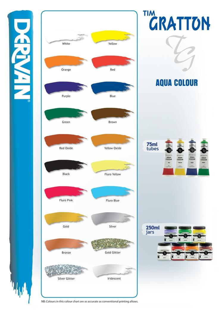 Tim Gratton Aqua Colour