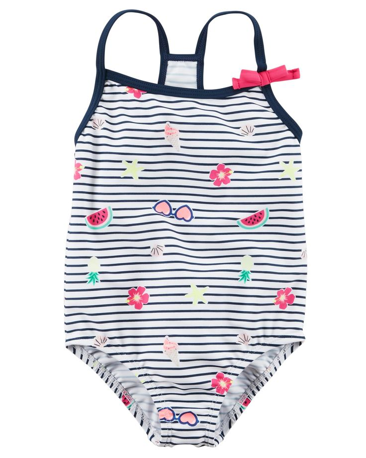 Toddler Girl Carter's Bow Swimsuit | Carters.com