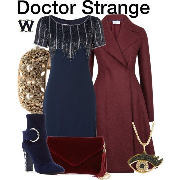 Inspired by Benedict Cumberbatch as the title character in Marvel's 2016 film Doctor Strange