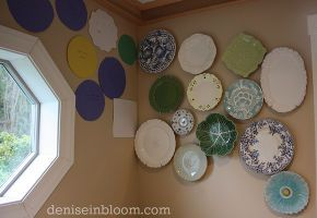 creating an eclectic wall plate arrangement, home decor, wall decor, Then I started to play around with it
