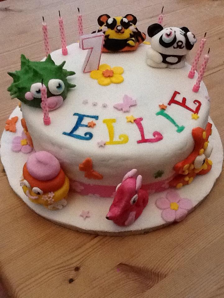 Ellie's 7th Birthday Cake...not bad