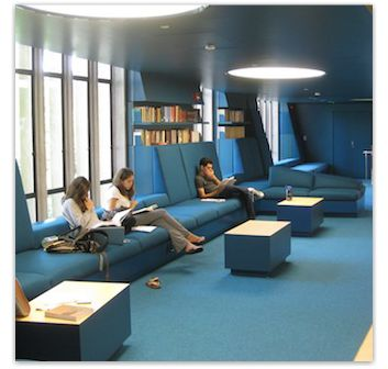 Picture Of The Julian Street Library Which Showcases Larger Commercial Interior Design Work That Beckenstein Fabric And Interiors Does
