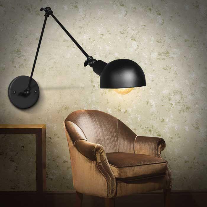 10 Modern Long Swing Arm Wall Lamps – VurniGoogle BookmarkFacebookTwitterPrintAddthis