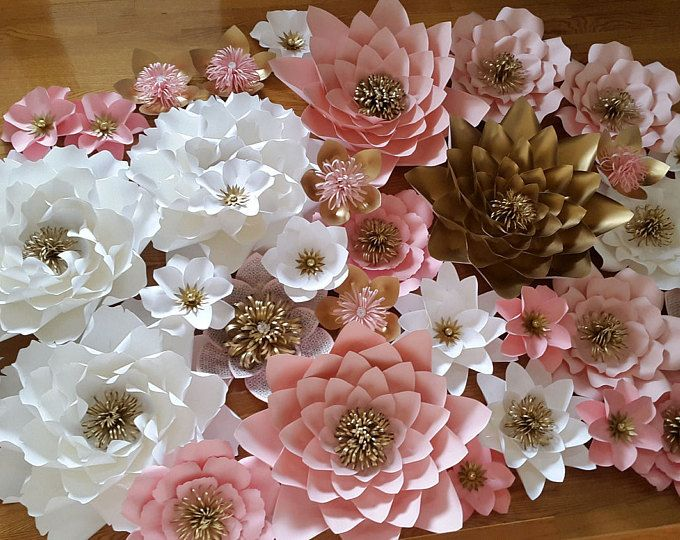 Paper flower backdrop, Baby shower backdrop, Princess theme birthday decor, Wedding backdrop, Wedding flower wall, Bridal shower backdrop