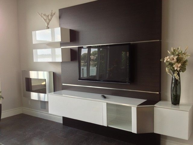 Chic And Modern Tv Wall Mount Ideas For Living Room Wall Mounted Tv Modern Tv Units Modern Tv Wall