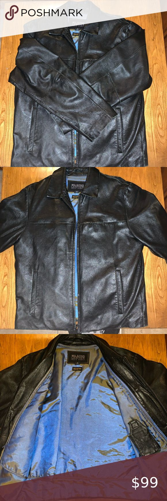 Wilson's leather pelle studio. Men's size medium Very good