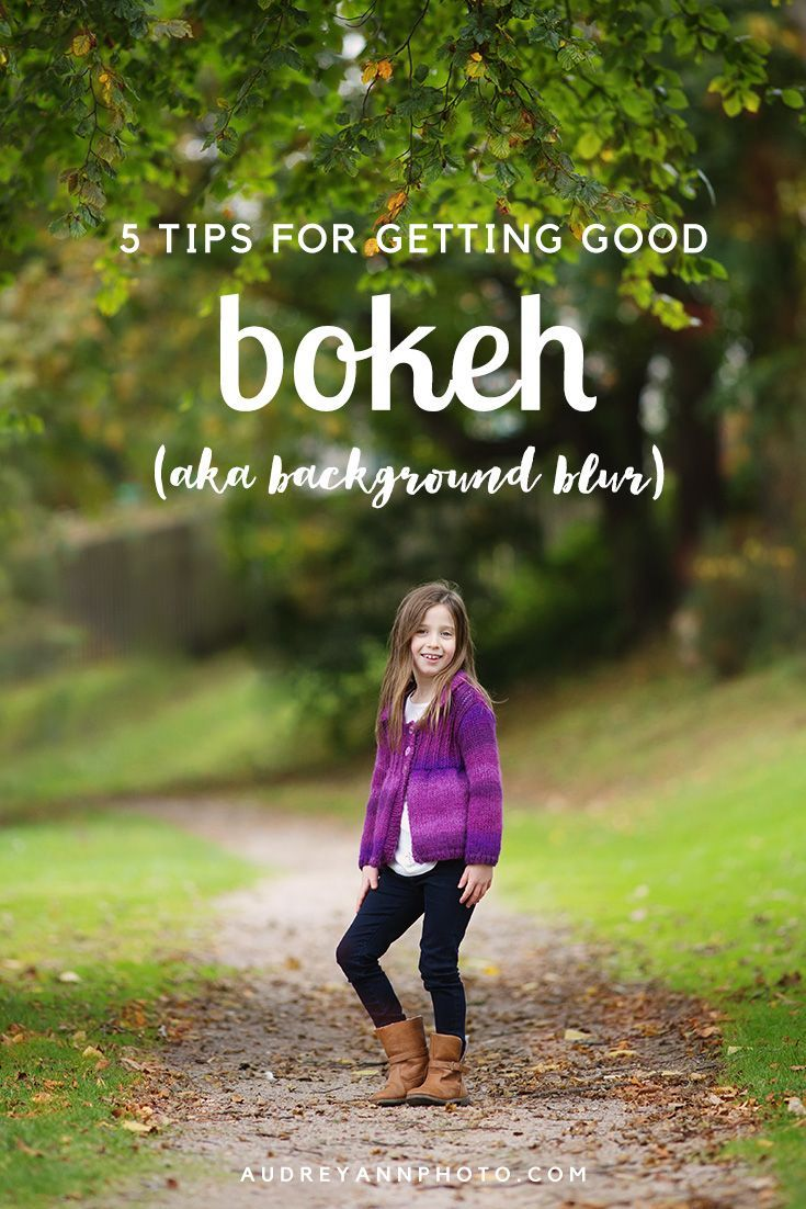 "5 Tips for Getting Good Bokeh -  photography tutorial with tips for getting good ""bokeh"" - the out of focus areas in your image."