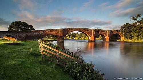 Early Morning at Lazonby Bridge