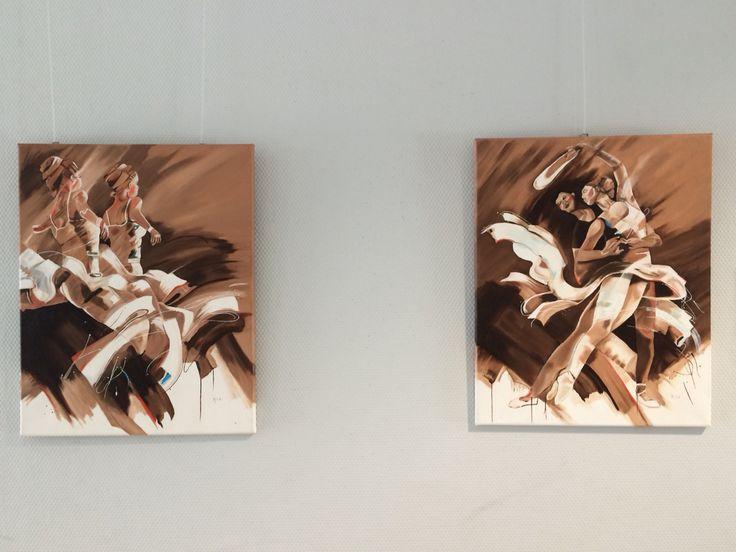 2 Luik aardse tinten by Ria Bos