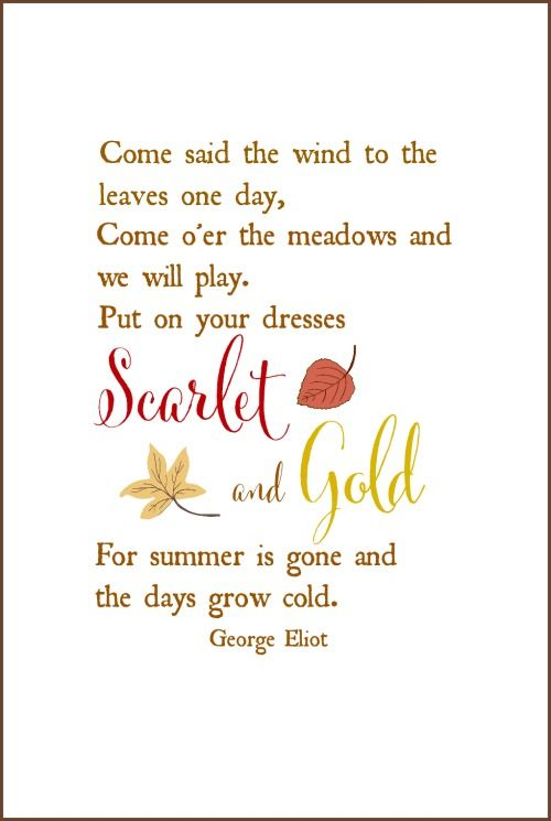 George Eliot quote free printable