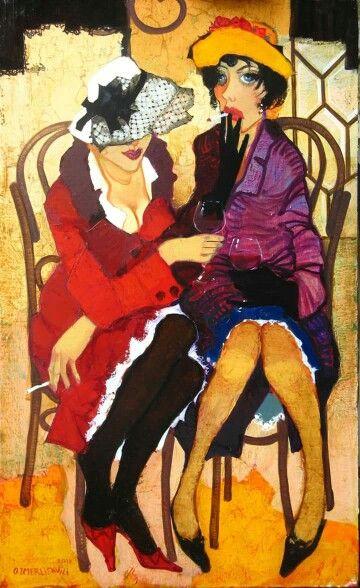 Two ladies.