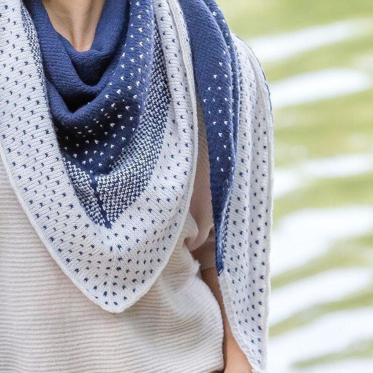Für den neuen Tücher Knit Along habe ich mich für das Cover-Tuch Nissa entsch…