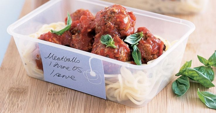 This recipe for spaghetti with meatballs is kind to the budget so you can afford to make lots and freeze some for later.