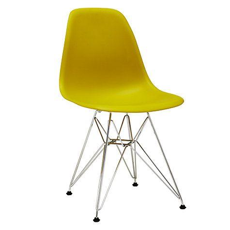 Buy Vitra Eames DSR 43cm Side Chair Online at johnlewis.com