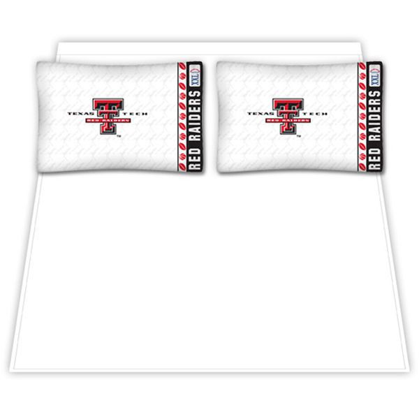 Texas Tech Red Raiders Queen Size Sheet Set - $64.99