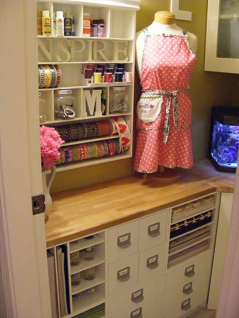 ikeaSewing Room, Crafts Area, Crafts Spaces, Room Ideas, Crafts Room Storage, Crafts Storage, Crafts Corner, Kitchens Cabinets, Craft Rooms