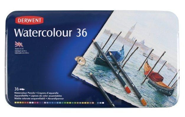 Derwent Watercolour Pencils 36pc