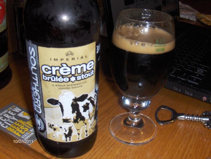 Southern Tier Crème Brûlée Stout. So freakin delicious!!