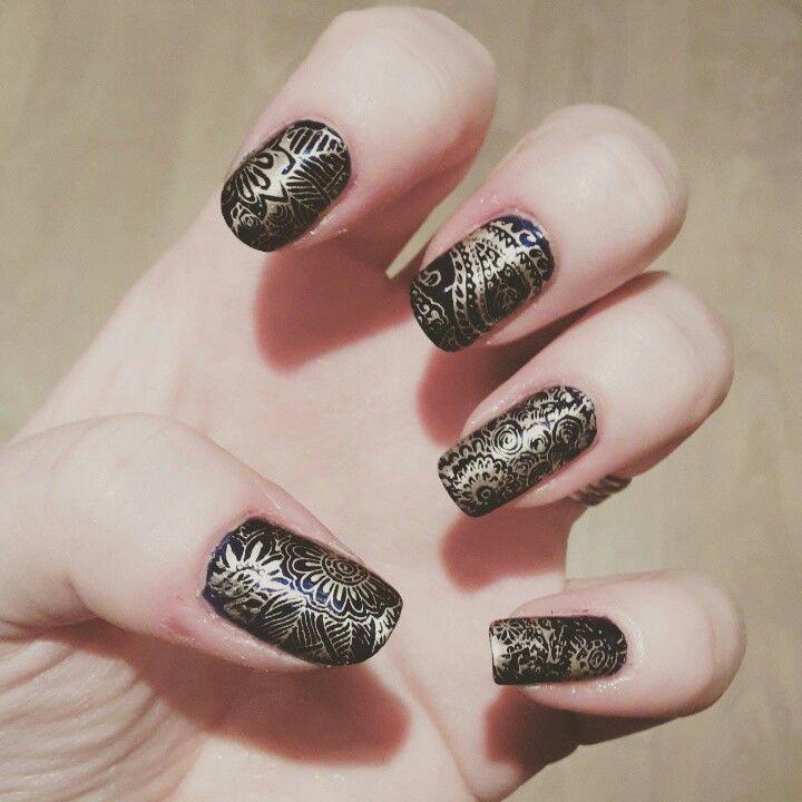 Stamping #nailie #nailart #nails