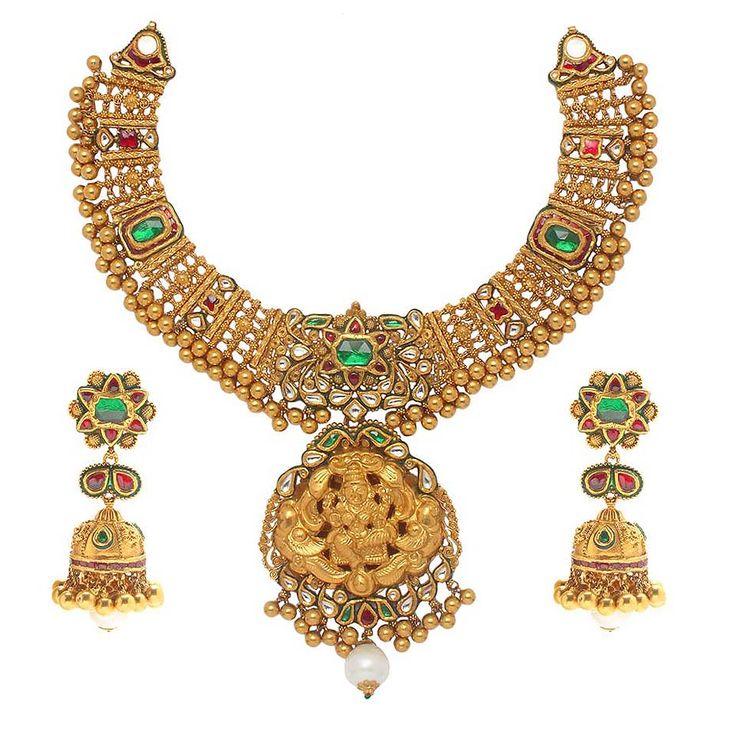 22ct Indian Gold Pendant Set 993 99: 167 Best Temple Jewellery Images On Pinterest