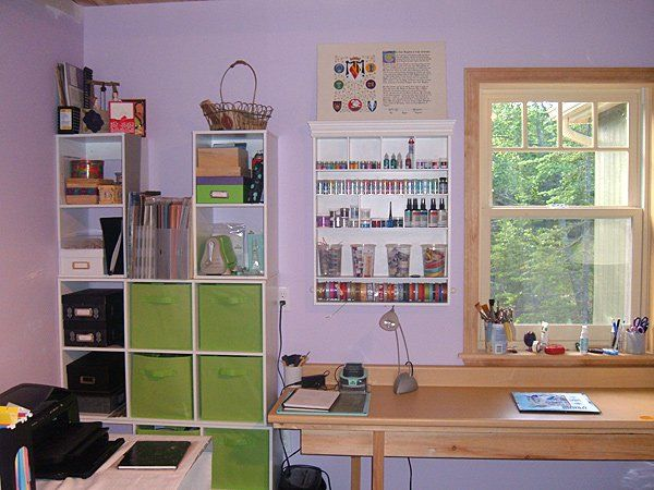Storage Solutions For Craft Rooms: 663 Best Images About Craft Rooms / Art Studios On