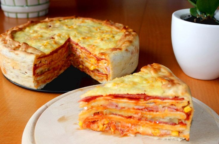 Пицца-пирог — Кулинарный Рай