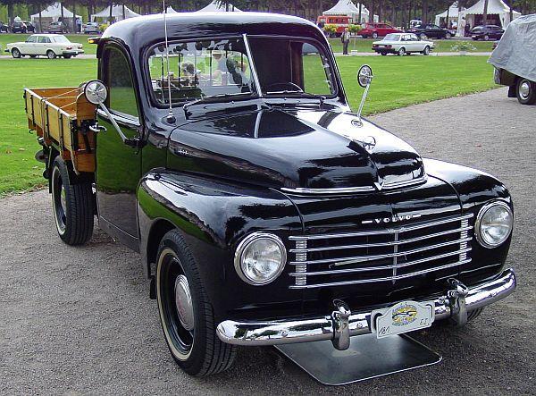 1957 Volvo PV445 Floda