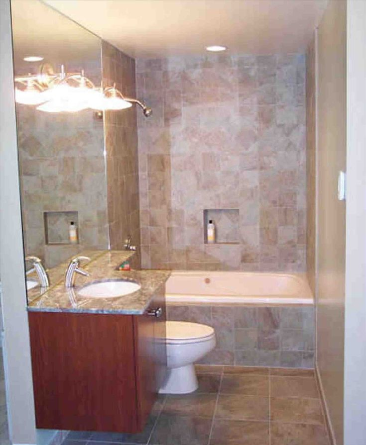 Best 25 very small bathroom ideas on pinterest bath - Small full bathroom remodel ideas ...