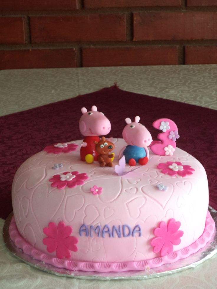 #PeppaPig #cake  #VolovanProductos #puq #chile