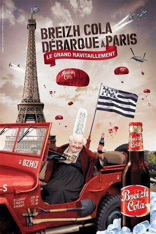 Breizh Cola #Bretagne #brittany #France #tourism J'ai goûté c'est meilleur que le coca à mon goût. (I've tried and French brittany's coke is actually way better than coca cola)