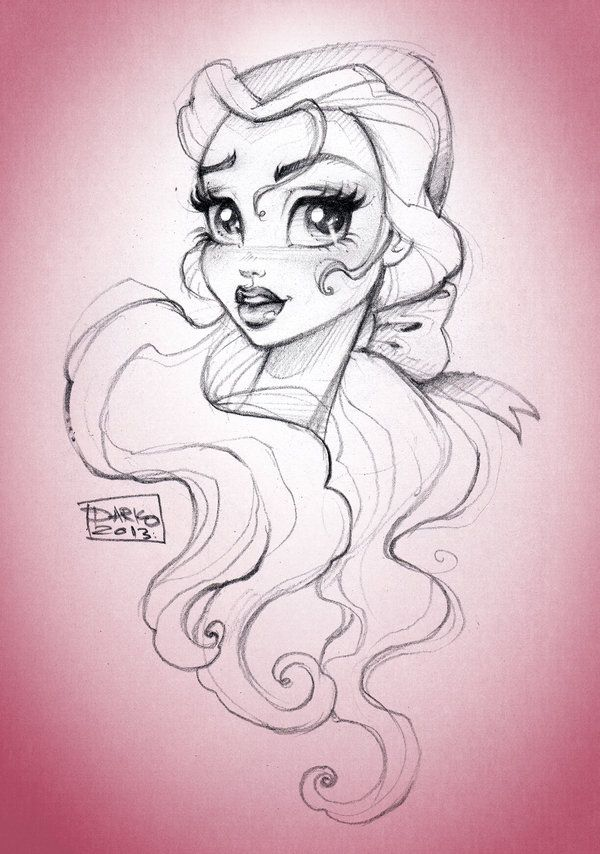 Disney Princess Belle by *darkodordevic on deviantART