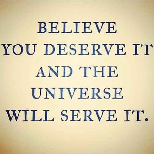 believe you deserve it :)