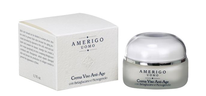Linea cosmetici uomo Amerigo-crema viso anti-age 50 ml €18,80