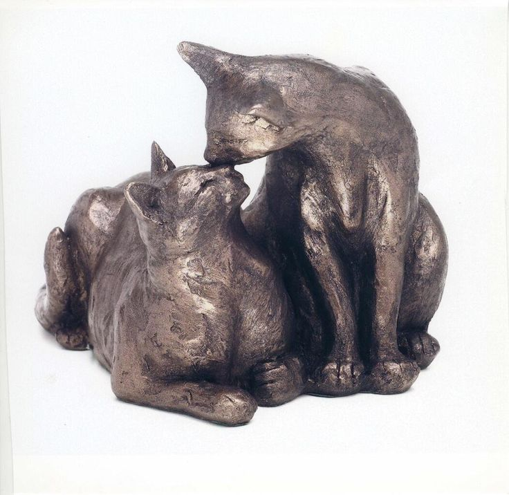 Assez 521 best CATS - Sculptures   חתולים - פסלים images on Pinterest  AW07