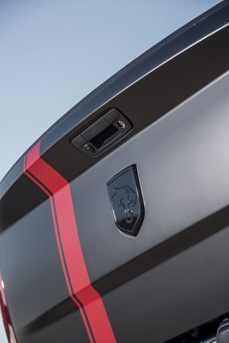 A 6.2L Hemi SRT Hellcat engine is shoehorned into a 2016 RAM 1500 for a sport truck on steroids.