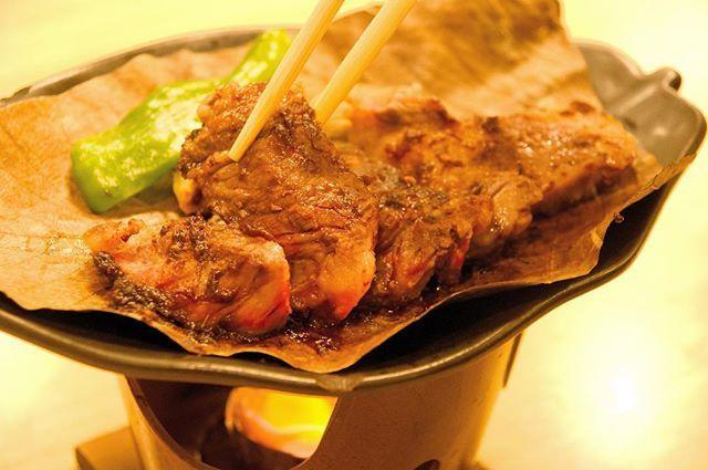 食欲しかない秋 #食欲しかない秋 #肉 #朴葉焼き #美味い #norikura #乗鞍 #乗鞍岳 #乗鞍高原 #sony #α77ⅱ #zeiss #カメラマンユータ