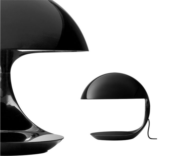 Swivel adjustable table lamp COBRA by Martinelli Luce | design Elio Martinelli