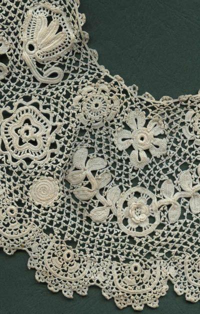 63 besten Antique Irish Crochet Bilder auf Pinterest   Irisch häkeln ...