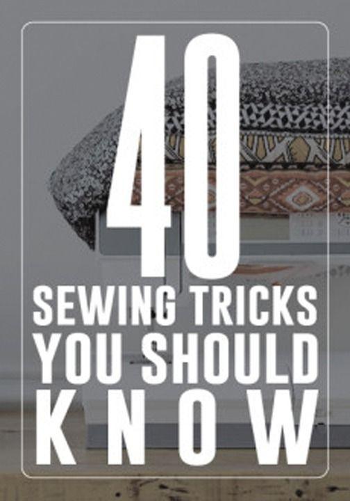 dicas úteis para costurar