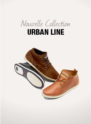 Chaussures Homme : URBAN LINE - Pataugas - Nouvelle Collection - Hiver 2013