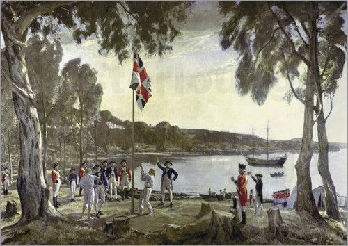 The Britisch men's discovered Australia at 1788. Now all Australian people celebrate it every year on 26 January.