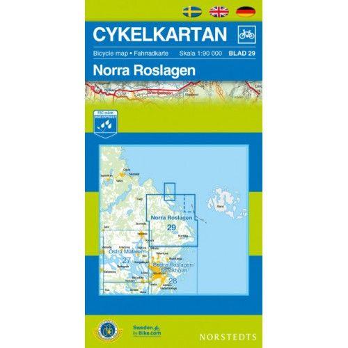 Cykelkarta 29 - Norra Roslagen