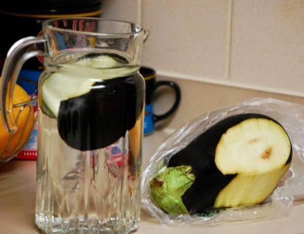 Agua de berenjena, la solución para bajar de peso